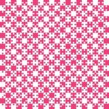 Ρόδινο τορνευτικό πριόνι κομματιών γρίφων - διάνυσμα - σκάκι τομέων Στοκ φωτογραφία με δικαίωμα ελεύθερης χρήσης