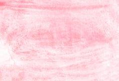 Ρόδινο υπόβαθρο watercolor χεριών οικολογίας, απεικόνιση ράστερ απεικόνιση αποθεμάτων