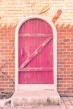 Ρόδινο χρώμα πορτών Στοκ φωτογραφία με δικαίωμα ελεύθερης χρήσης