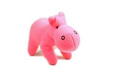 Ρόδινο hippo Στοκ Εικόνες