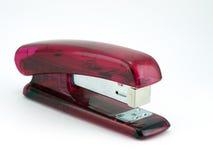ρόδινο stapler Στοκ εικόνα με δικαίωμα ελεύθερης χρήσης