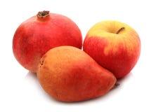 ρόδι αχλαδιών μήλων Στοκ Εικόνες