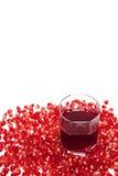 ρόδι χυμού σιταριών Στοκ εικόνα με δικαίωμα ελεύθερης χρήσης