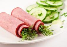 ρόλοι βόειου κρέατος Στοκ Εικόνες