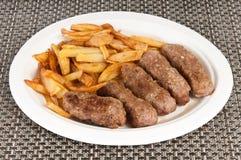 Ρόλοι κρέατος Στοκ φωτογραφίες με δικαίωμα ελεύθερης χρήσης