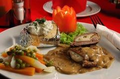 ρόλοι κρέατος Στοκ φωτογραφία με δικαίωμα ελεύθερης χρήσης