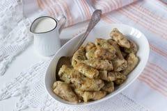 Ρόλοι λάχανων με το κρέας, το ρύζι και τα λαχανικά Dolma, sarma, sarmale, golubtsy ή golabki στοκ φωτογραφία με δικαίωμα ελεύθερης χρήσης