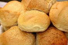 ρόλοι ψωμιού Στοκ φωτογραφία με δικαίωμα ελεύθερης χρήσης