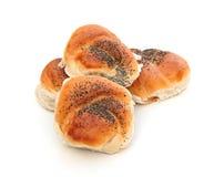 ρόλοι ψωμιού Στοκ εικόνες με δικαίωμα ελεύθερης χρήσης