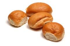 ρόλοι ψωμιού Στοκ Φωτογραφίες