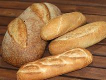 ρόλοι ψωμιών Στοκ Φωτογραφίες