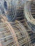 Ρόλος της έλλειψης χάλυβα πλέγματος καλωδίων συντήρησης και σκουριάς Στοκ Εικόνες