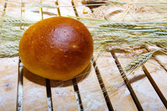 Ρόλος ψωμιού Στοκ φωτογραφίες με δικαίωμα ελεύθερης χρήσης