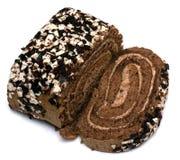 ρόλος choco κέικ Στοκ Εικόνες
