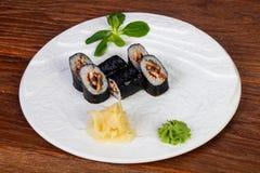 Ρόλος Unagi της Maki - χέλι Στοκ φωτογραφία με δικαίωμα ελεύθερης χρήσης