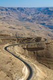 δρόμος βασιλιάδων της Ιορδανίας Στοκ φωτογραφίες με δικαίωμα ελεύθερης χρήσης