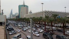 δρόμος βασιλιάδων fahd, Ριάντ, Σαουδική Αραβία Στοκ εικόνα με δικαίωμα ελεύθερης χρήσης