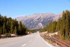 δρόμος βουνών του Καναδά Στοκ φωτογραφίες με δικαίωμα ελεύθερης χρήσης