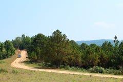 δρόμος βουνών φυσικός στοκ εικόνες