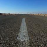 δρόμος ερήμων Στοκ Εικόνες