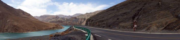 δρόμος Θιβέτ Στοκ φωτογραφία με δικαίωμα ελεύθερης χρήσης