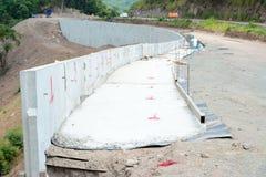 δρόμος κατασκευής κάτω Στοκ Εικόνα