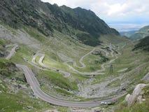 δρόμος Ρουμανία transfagarasan στοκ φωτογραφία με δικαίωμα ελεύθερης χρήσης