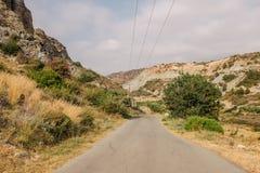 δρόμος της Κύπρου Στοκ φωτογραφίες με δικαίωμα ελεύθερης χρήσης