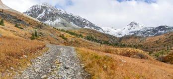 δρόμος υψηλών βουνών Στοκ Εικόνες
