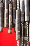 ρόπαλο αλυσίδων Στοκ Εικόνες