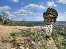 Ρόπαλο Capska - παράξενος σχηματισμός βράχου Στοκ φωτογραφία με δικαίωμα ελεύθερης χρήσης