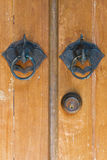 Ρόπτρα πορτών ελεφάντων Στοκ φωτογραφία με δικαίωμα ελεύθερης χρήσης