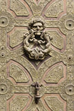Ρόπτρα πορτών λιονταριού στοκ φωτογραφία με δικαίωμα ελεύθερης χρήσης