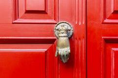 ρόπτρα πορτών παλαιά Στοκ Φωτογραφίες