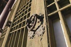 ρόπτρα πορτών παλαιά στοκ φωτογραφία με δικαίωμα ελεύθερης χρήσης