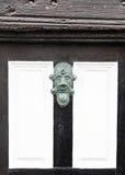 ρόπτρα πορτών παλαιά Στοκ Εικόνες