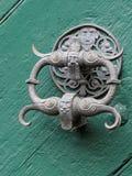 Ρόπτρα πορτών στη Βαυαρία στοκ φωτογραφία με δικαίωμα ελεύθερης χρήσης