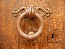 ρόπτρα πορτών στοκ εικόνα με δικαίωμα ελεύθερης χρήσης