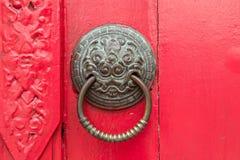Ρόπτρα πορτών Στοκ εικόνες με δικαίωμα ελεύθερης χρήσης
