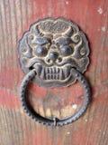 Ρόπτρα πορτών Qilin στοκ εικόνα