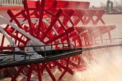 ρόδα ατμοπλοίων Στοκ Εικόνα