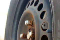 Ρόδα αυτοκινήτων Στοκ εικόνες με δικαίωμα ελεύθερης χρήσης