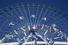 Ρόδα και κράτος δίκαιο TX Ferris Στοκ φωτογραφία με δικαίωμα ελεύθερης χρήσης