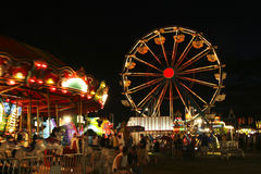 Ρόδα καρναβαλιού Ferris Στοκ εικόνα με δικαίωμα ελεύθερης χρήσης