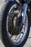 Ρόδα μοτοσικλετών Στοκ Εικόνες