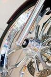 Ρόδα μοτοσικλετών Στοκ εικόνες με δικαίωμα ελεύθερης χρήσης