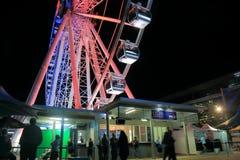 Ρόδα Μπρίσμπαν Αυστραλία Ferris Στοκ Εικόνες