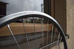 Ρόδα ποδηλάτων με τα spokes Στοκ φωτογραφία με δικαίωμα ελεύθερης χρήσης