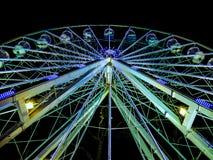 Ρόδα στη νύχτα - Λονδίνο, Ηνωμένο Βασίλειο Στοκ εικόνα με δικαίωμα ελεύθερης χρήσης
