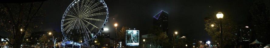 Ρόδα της Ατλάντας Ferris πανοραμική Στοκ Εικόνες